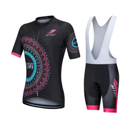 China 2017 New women breathable outdoor biking sport Jersey bib short maillot cullot bike clothes cycling apparel wear 3D gel pad suppliers