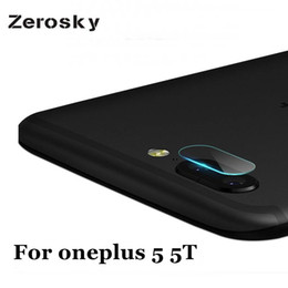 China Zerosky 2 PCS Clear Camera Lens Protector Protection Film For oneplus 5 5T Tempered Glass Back Cover For oneplus5 one plus 5 5T cheap camera protection cover suppliers