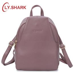 $enCountryForm.capitalKeyWord Australia - LY.SHARK Mini Backpack Women Bagpack Genuine Leather Backpack Small Women Shoulder Bag Anti Theft Back Pack For Girls Backbag