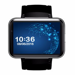 Discount sim watch 3g - DM98 Bluetooth Smart Watch Phone MTK6572 with 2G 3G SIM Android 4.4 OS Clock Smartwatch Wristwatch 900mah GPS Wifi