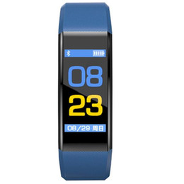 """Discount samsung smart watch for women - Smart Fitness Bracelet Tracker 115Plus 0.96"""" Colorful Screen Blood Pressure Heart Rate Monitor Women Watch for ipho"""