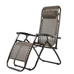 Office high chair online shopping - Outdoors Leisure Time Folding Deck Chair For Office Practical Beach Backrest Chairs Portable Foldaway Bed High Quality ds Ww