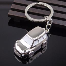 Discount car shape logos - car shape Key Chain solid four wheel car Model keychain gift logo Key Chain Ring Keyfob Holder Keyring #5-6
