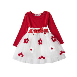 Fancy Infant Baby Girls Dresses Frock Designs Newborn 1 Year Birthday Party  Dress Flowers Christening Gown Toddler Baby Outfits 67f089bdd548