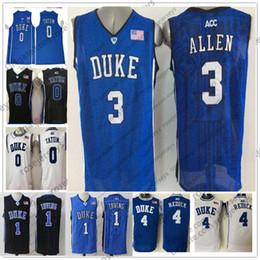 a530d25b8d7f Discount duke black basketball jersey - NCAA Duke Blue Devils  3 Grayson  Allen 4 JJ