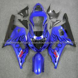 $enCountryForm.capitalKeyWord UK - 5Gifts+Custom ABS blue black Fairing For Suzuki GSX-R600750 2001 2002 2003 GSXR 600 R750 K1 motorcycle plastic kit