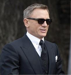 Nouveau Square James Bond Hommes Lunettes De Soleil Marque Designer Lunettes Femmes Super Star Celebrity Conduite Lunettes De Soleil Tom pour Hommes Lunettes