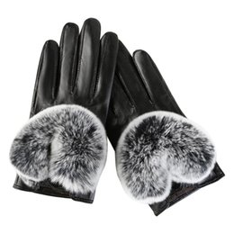Leather Gloves For Men Australia - feitong women's winter leather gloves winter warm gift glove for ladies new fashion casual gloves mittens#25