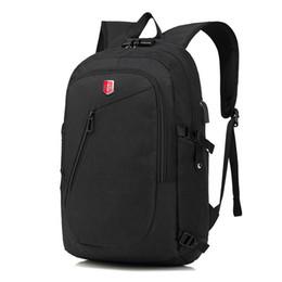 $enCountryForm.capitalKeyWord NZ - Swiss Oxford Backpack Man External Charging USB 15 Inch Laptop Women Travel Rucksack School Bags bagpack  with Coded Lock
