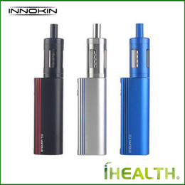 lipo box mods UK - 100% Authentic Innokin Endura T22 Starter Kit Built In 2000mAh battery Lipo Box Mod Kit with Prism T22 Tank Atomizer T22 T18 coils
