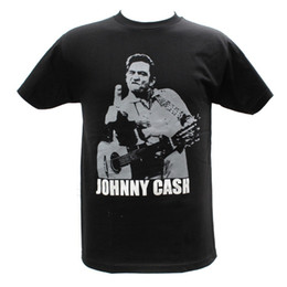 $enCountryForm.capitalKeyWord Australia - Summer 2018 Famous Brand Johnny Cash Embroidered Graphic T-Shirts Cartoon tee shirt homme high quality top tees