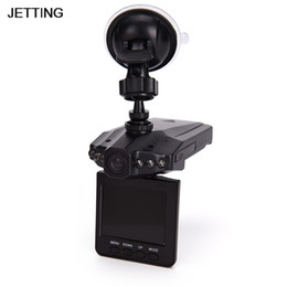 Dvr Set NZ - JETTING 1 Set Car DVR Camera 6LED Lights Road Dash Video Camera Recorder 2.5''LTPS Screen