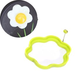 Round Kitchen Sets Australia - Food Grade Silicon Omelette Maker Mold 4Pcs set Round Shape Nonstick Frying Egg Mould Shape Ring Pancake Rings Mold For Kitchen Mould