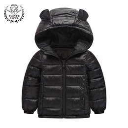 $enCountryForm.capitalKeyWord Canada - Hot Winter Down Jacket Girl Boy Black Pink Hooded Coat Boys Girls Windproof Childrens Parkas Warm Snowsuit Zipper Doudoune Fille