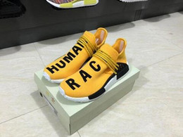 check out f1497 d01ec Authentic nmd humAn rAce online shopping - 2018 Pharrell Williams NMD Human  Race Hu Running Shoes