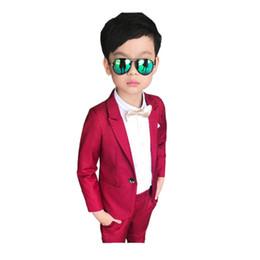 0ecb96ac1d71 Top ragazzo causale pantaloni set stile solido solidi vestiti per 3-10 anni  ragazzi bambini