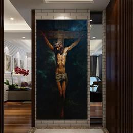 $enCountryForm.capitalKeyWord Australia - 1 Pcs The Crucifixion HD Print Jesus Christ Oil Painting on canvas art print home decor wall art painting picture No Frame