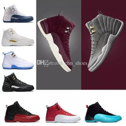 $enCountryForm.capitalKeyWord Canada - 12 XII basketball shoes Dark Gray Bordeaux Flu Game wolf grey Gym red taxi gamma french blue Suede playoffs sneakers with box us8-13
