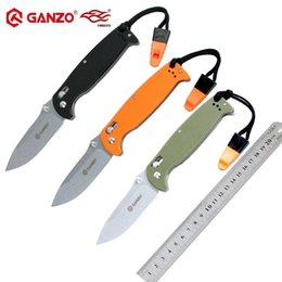 ganzo knives NZ - Firebird Ganzo G7412 58-60HRC 440C blade G10 handle folding knife outdoor tactical camping EDC tool Hunting Pocket Knife