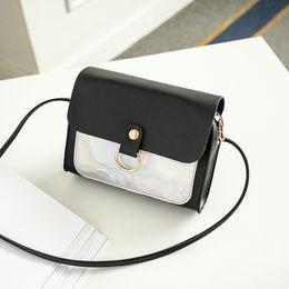 $enCountryForm.capitalKeyWord Australia - WKKGO Lady Handbag Mini Multi Color Patchwork Bag Satchel Pack Women Shopping Travel Coin Purse Shoulder Messenger Crossbody Bag