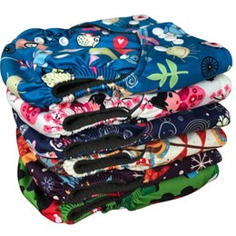 Wholesale BABYLAND pieces A My Pick Bamboo Charcoal Diaper Reusable Waterproof Baby Diaper Cover Manufacturer