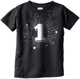 Infant tshIrts online shopping - Design A Shirt Print Crazy Dog Tshirts Infant One Year Old Birthday Party Celebration Age Tee For Babies Men O Neck Short Sleeve