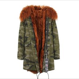 $enCountryForm.capitalKeyWord UK - Mongolia sheep fur trim Jazzevar brand Caramel lamb fur liner Camouflage shell long jackets snow winter parka with fur trim hoody
