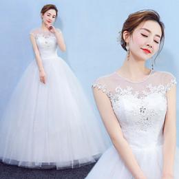 $enCountryForm.capitalKeyWord NZ - 2018 Boho lace bohemian Wedding Dress Cap Sleeves bride dress simple bridal gown Marriage wedding dress