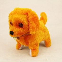 Discount plush walking dog electronic barking - Christmas Gift Music Light Electronic Dog Interactive Electronic Pets Robot Dog Bark Stand Walk Toys For Children