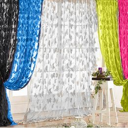 $enCountryForm.capitalKeyWord NZ - 200x100cm Window Curtains Butterfly Tassel String Door Curtains for Living Room Bedroom Divider Curtain Home Decoration