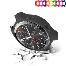 $enCountryForm.capitalKeyWord Australia - Silicone Protect Watch Case for Samsung Gear S3 Frontier 22mm replacement Colorful Protective Cover frame rubber shell
