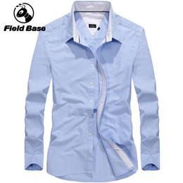 1fba08ecbe0 2018 New Men s Wedding Shirt Long Sleeve Men Dress Shirt Business Solid 6 Color  Casual Shirts Work Wear Formal Slim Man