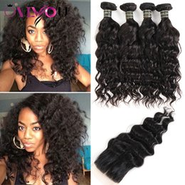 Cheap hair weave for blaCk women online shopping - Brazilian Virgin Hair  Water Wave Human Hair b96528d3b0