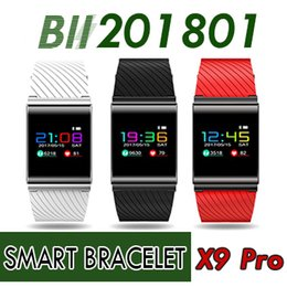 $enCountryForm.capitalKeyWord Canada - Smart Bracelet X9 Pro For Android IOS Bluetooth Band Heart Rate Blood Pressure Pedometer phone Smart Wristband PK xiao mi band2 F1 S2 M2S S3