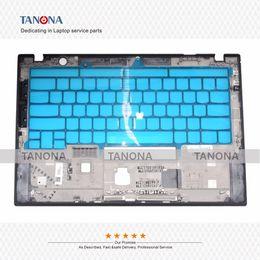 Lenovo Keyboards For Laptop Australia - Original New for Lenovo ThinkPad X1 Carbon 5 Gen 5th 2017 Laptop Palmrest Keyboard W  FP Upper Case AM12S000500 Black C Shell