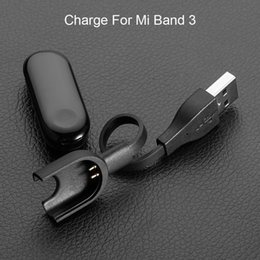 21cm bracelet NZ - 21cm OD2.8 TPE USB Data Cradle Dock Smartwatch Fast Charging Cable Wire for Xiaomi Mi Band 3 Smart Bracelet Charger High Quality