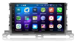 Discount gps for toyota highlander - 8-Core 10.2 inch Android 6.0 Car Dvd Gps Navi Audio for Toyota Highlander 2015--HD1024*600 1080P 2GB 32GB nand Wifi SWC