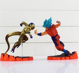 Hot Toys Goku NZ - Dragon Ball Z Super Saiyan Goku Son Freeza Freezer Ultimate Form Anime Combat Edition PVC Action Figure Collectible Toys 2018 new hot