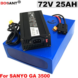 $enCountryForm.capitalKeyWord Australia - 72V 25AH Lithium Battery pack for Original Sanyo 18650 Electric Bicycle Battery 72V for Bafang BBS 2000W 3000W Motor +5A Charger