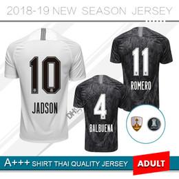 2019 Corinthian  10 JADSON Soccer Jersey 18 19 Home away  11 ROMERO  8  MAYCON  5 GABRIEL  4 BALBUENA Brazil Custom football uniform 49dea1c07