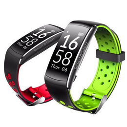 Wholesale smart q8 for sale - Group buy Q8 Smart Band For Iphone X Bluetooth Smart Sports Wristbands Heart Rate Monitor For Galaxy S8 With Retail Package