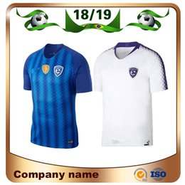 8cb89f08c0 2019 Al-Hilal Saudi Football Club SOCCER JERSEYS 18 19 9 Al-Hilal Saudi  Home Bule Soccer shirt EDUARDO BOTIA CARRILLO KHRBIN football unifor
