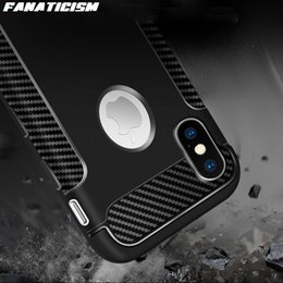 $enCountryForm.capitalKeyWord Australia - Luxury Shockproof Soft TPU Silicone Case For iphone X XR XS Max 5s SE 6s 7 8 Plus Carbon Fiber Desigh Back Cover