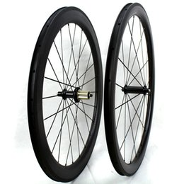 $enCountryForm.capitalKeyWord NZ - Dimple golf Surface front 45mm plus rear 58mm Clincher carbon road bike wheels carbon bicycle racing Wheelset powerway hub R36 width 25mm