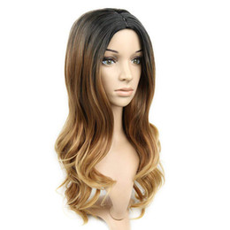 $enCountryForm.capitalKeyWord UK - new arrival hair wigs for women long curly hair wave Gradient high quality 50cm centre parting synthetic