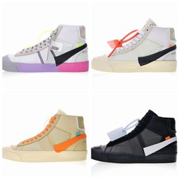 new product 49463 eb694 Serena Williams X Blazers Mid Rainbow Alle Hallows Eve Herren Laufschuhe  Blazer Mid Studio Grim Reepers Damen Trainer Designer 10X Sneakers