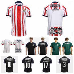 7ffb18154 Guadalajara Soccer Jersey CD Chivas Men 18 19 Season 6 HERNANDEZ 17 SANCHEZ  7 PINEDA 3 SALCIDO Football Shirt Kits Make Custom