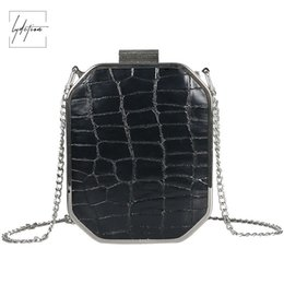 d545ef93f13c Lydztion Fashion Black Luxury Flap Bag Chain Evening Totes 2018 Hot Designer  Handbags With Kiss Lock Small PU Metal Frame Clutch