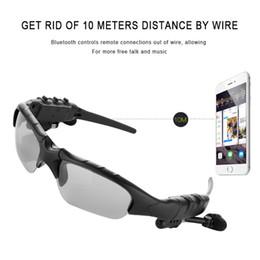 Опт HBS-368 солнцезащитные очки Bluetooth-гарнитура открытый очки наушники музыка с микрофоном стерео беспроводные наушники для iPhone Samsung синий / Радуга