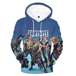Prints color online shopping - New Men Women DFortnite Games Pullover Hoodie Sweatshirt plus size XL Hip Hop Hooded d Print Fortnite Hoodie Fall Outfit